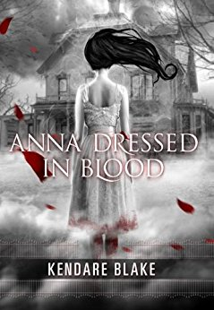 Anna dressed in blood book cover