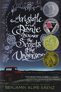 Aristotle and dante discover the secrets of the universe book cover