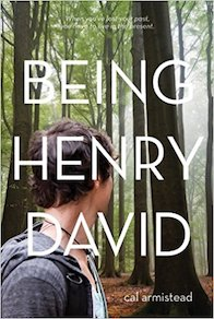 Being henry david book cover