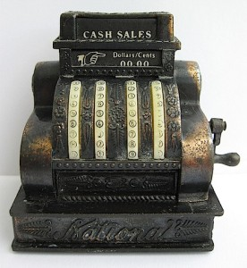 Vintage Cash Register image