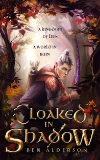 Cloaked in shadow book cover