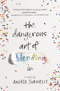 Dangerous art of blending in book cover