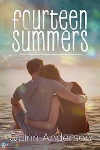 Fourteen summers book cover