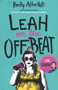 Leah and the offbeat book cover