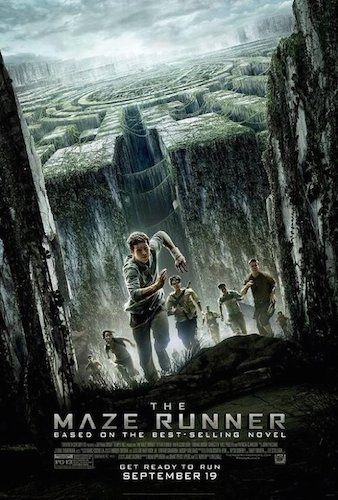 Maze runner movie poster