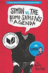 Simon vs homosapiens agenda book cover
