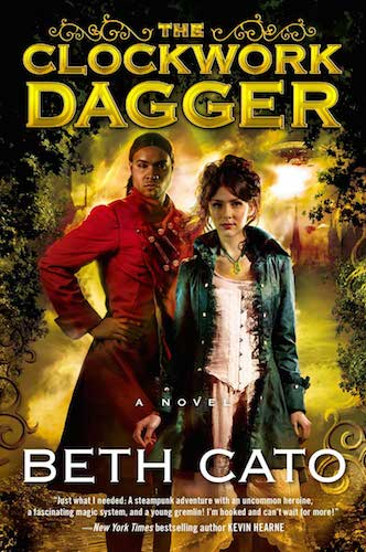 The clockwork dagger cover