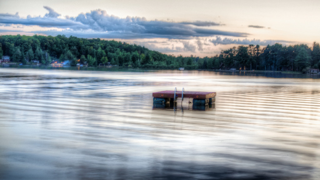 Image of Lake at Sunset