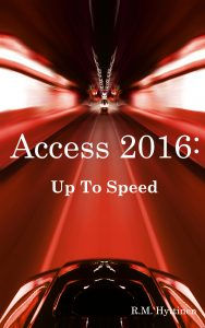 Microsoft Access 2016 Up To Speed cover